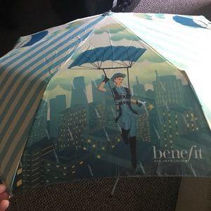 Benefit Umbrella- Like New!
